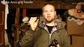Barska Accu-grip handle for people with large hands. - DSLR Film NOOB