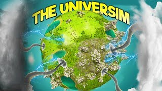 THE UNIVERSIM SAVE UPDATE! Tornadoes, Sandstorms, and Genetic Mutations! - The Universim Gameplay