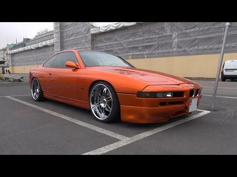 """Candy Orange BMW 850 CiA on 20"""" Savini Forged Wheels"""