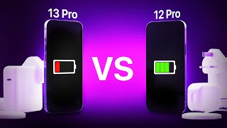 Apple iPhone 13 Pro vs Apple iPhone 12 Pro – The Complete Battery Test
