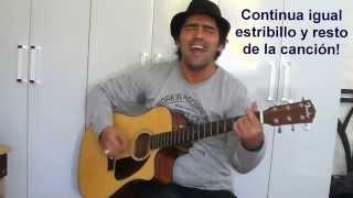 """Video thumbnail of """"Como tocar - El amor es mas fuerte de - Tango  Feroz"""""""
