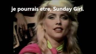 Sunday Girl BLONDIE (with lyrics) - YouTube