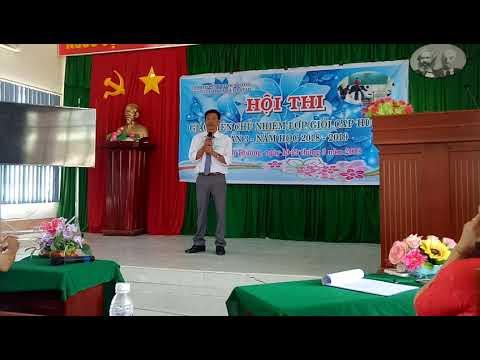 Hội thi giáo viên chủ nhiệm giỏi cấp huyện.