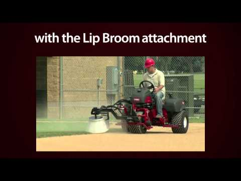 Toro® Sand Pro® Edger and Lip Broom Attachments