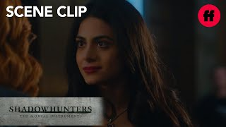 Shadowhunters | Season 2, Episode 7: Izzy Confronts Clary about Sister Cleophas | Freeform