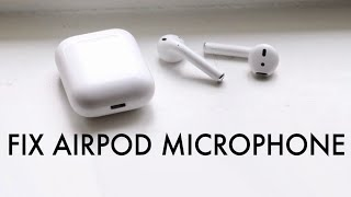 FIX AirPods Microphone Not Working! (2020)