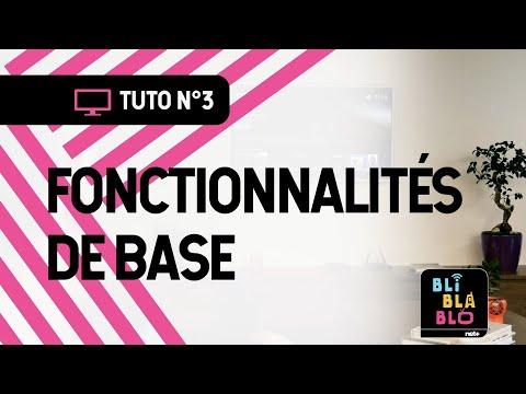 Trucs & Astuces BLI BLA BLO - Fonctionnalités de base
