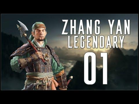 BLACK MOUNTAIN KING - Zhang Yan (Legendary Romance) - Total War: Three Kingdoms - Ep.01!