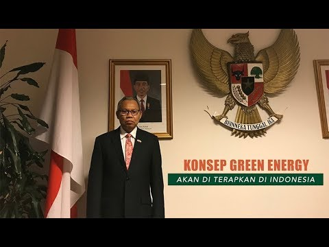 Indonesia Akan Terapkan Konsep Green Energy