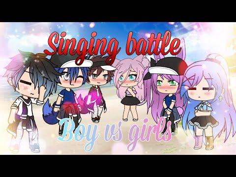 Singing battle||Pt.5||Boys vs Girls||Gacha life