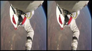 VRin - Virtual Reality Flying - Space Jumping - 3D - SBS - google cardboard