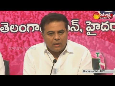 KTR Counter Attack On Rahul Gandhi Over Comments On TRS Govt