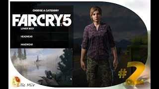 Let's play Far Cry 5 Part 2 - Character Customization