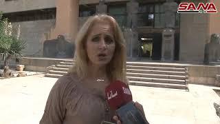 كنوز حضارية تعود إلى مكانها في متحف حلب-فيديو