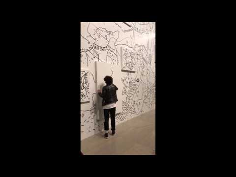 shantell martin :: live drawing