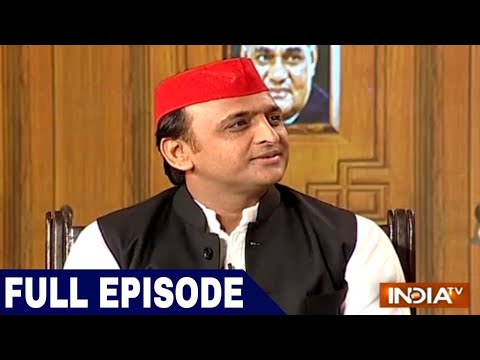 Akhilesh Yadav in Aap Ki Adalat | India TV Samvaad on Yogi Govt's 1 Year
