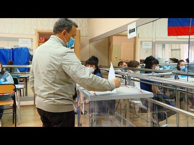 В Приангарье дан старт голосованию в Государственную Думу