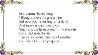 Dakota Moon - Snow in July Lyrics