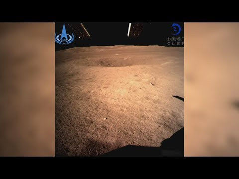 China's spacecraft lands on far side of the moon