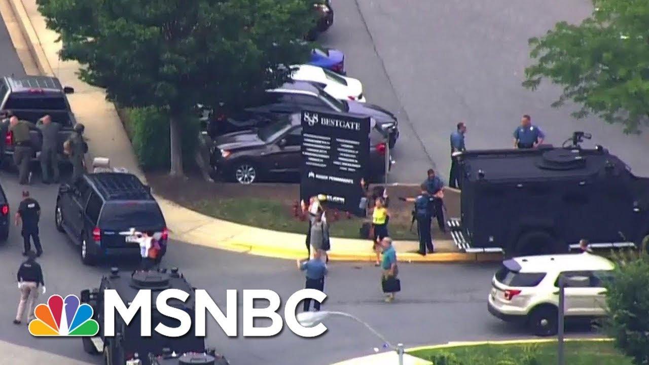 'We Do Have Injuries,' Officials At Maryland Shooting | MSNBC thumbnail