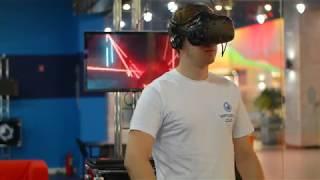 Аттракцион DJ Джедай - Процесс игры V1 на HTC Vive