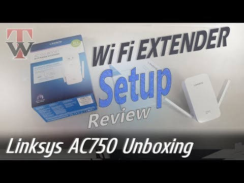 Linksys AC750 Wifi Range Extender Unboxing, Setup & Review