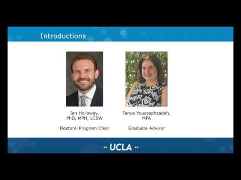 UCLA Luskin SW PhD Admissions Info Session October 17, 2019