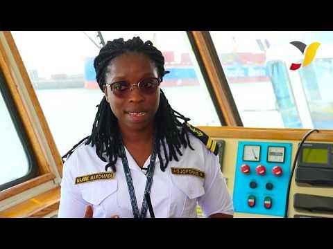 Promouvoir les corps de métiers portuaires auprès des femmes