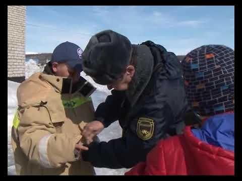 Мероприятия с детьми в ПЧ по охране п.Харп ОПС ЯНАО по Приуральскому району