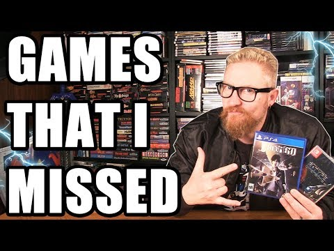 VIDEO GAMES I MISSED! - Happy Console Gamer