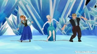 Frozen dancing to E.T. [MMD]