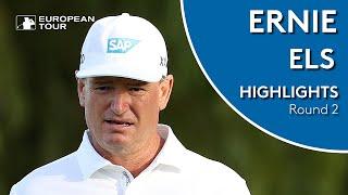 Ernie Els Highlights | Round 2 | 2019 Maybank Championship