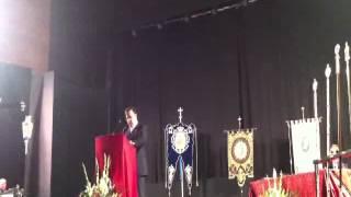 preview picture of video 'Pregón Semana Santa 2012 La Carolina'