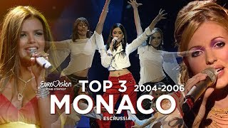 Monaco In Eurovision - Top 3 (2004-2006)