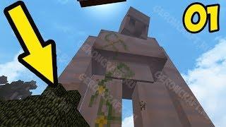 МОД НА ЖИВЫЕ БЛОКИ И ТРОЛЛИНГ ГИГАНТОВ Нереальное Прохождение Minecraft Серия 001