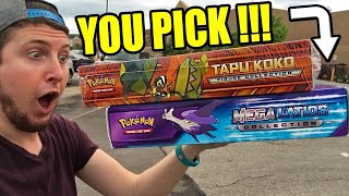 FANS CHOICE! WHO WINS THE POKEMON BOX OPENING HAUL, NEW TOURNAMENT!