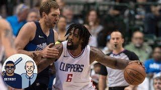 DeAndre Jordan to the Dallas Mavericks (finally)?   Jalen & Jacoby   ESPN