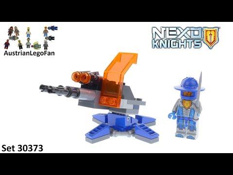 Vidéo LEGO Nexo Knights 30373 : Knighton Hyper Cannon (Polybag)