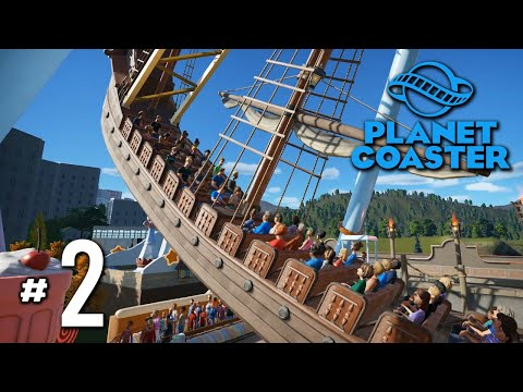 ไวกิ้งส์แสนหวาน - Planet Coaster #2(มีของหวาน)