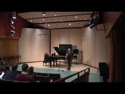Sonata by Paul Creston, Mvt 2