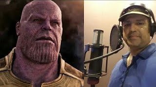 Avengers Infinity War Hindi Voice Dubbing actors #marvel #thanos #ninadkamat