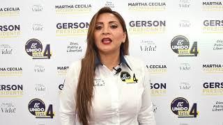 Rocio Juca, Candidata Asambleísta Nacional del Ecuador 2021.