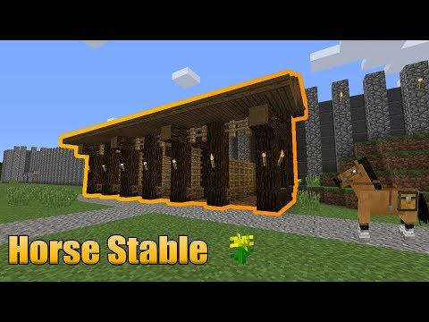 Horse Stable Minecraft Map A horse is a mob that usually spawns in groups within plains and savanna biomes. horse stable minecraft map