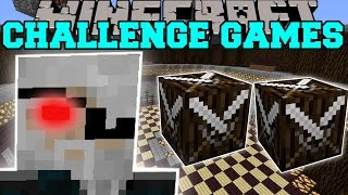 Minecraft: COLD KNIGHT CHALLENGE GAMES - Lucky Block Mod - Modded Mini-Game
