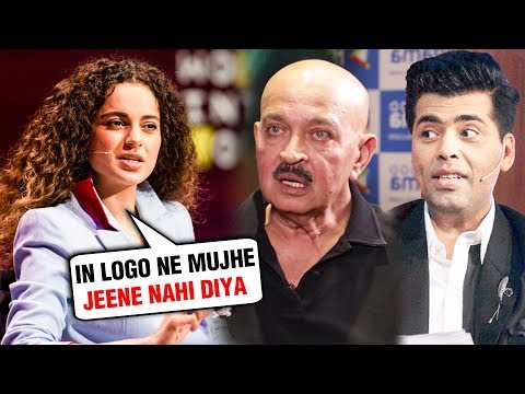 Kangana Ranaut ANGRY REACTION On Karan Johar, Rake