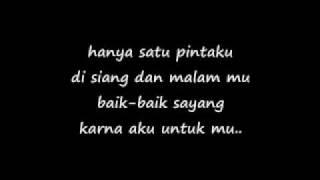 Baik-baik Sayang By Wali With Lyrics