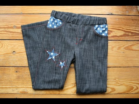 Mottis Jeans von Made for Motti nähen, kostenloses Schnittmuster
