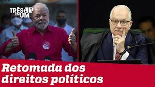Lula tem condenações anuladas por decisão de Fachin