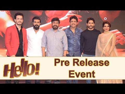 Hello Movie Pre Release Event Full Video