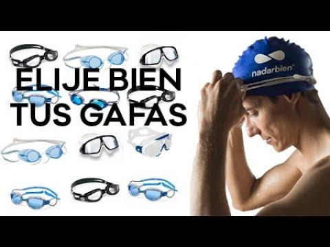 Tipos de gafas de natacion y cual elegir